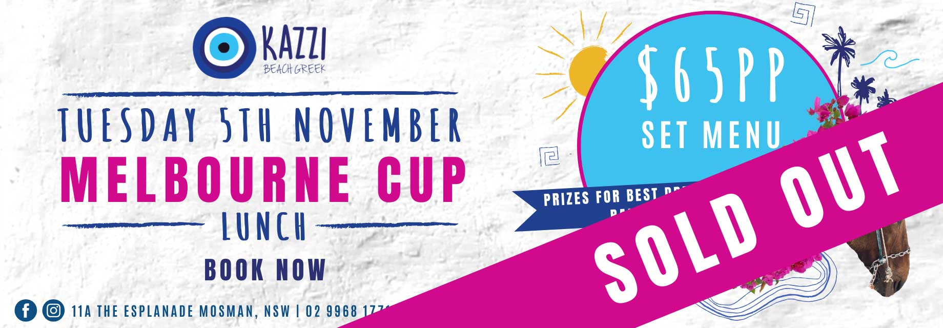 Melbourne Cup 2019 – SOLD OUT